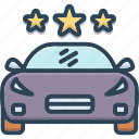 car, carriage, conveyance, transportation, vehicle icon