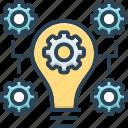 bulb, concept, customize, idea, innovation, inspiration