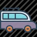 bus, carriage, conveyance, mini bus, transport, van, vehicle