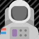 astronaut, moon, skydive