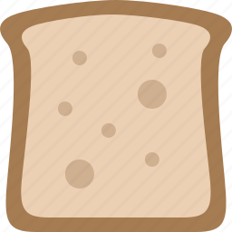 bread, eat, food, slice icon