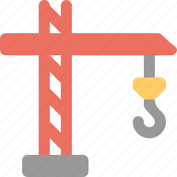 construction, crane, engineer icon