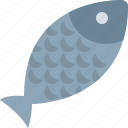 dish, fish, food, water icon