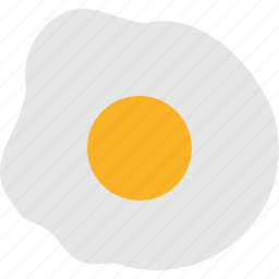 egg, food, fried icon