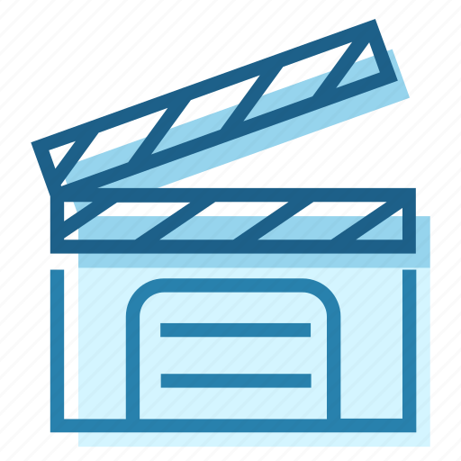 Director, double, film, filming, set icon - Download on Iconfinder