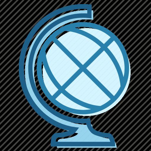 cabinet, globe, map, planet, world icon