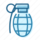 bomb, grenade, military, soldier, war, weapon icon
