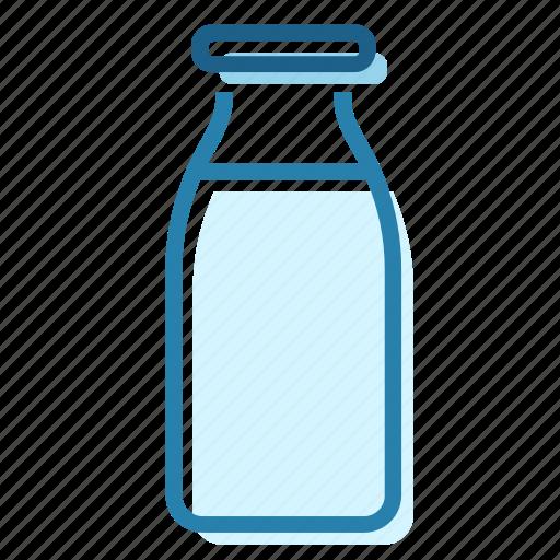 bones, bottle, cow, fresh, milk, protein icon
