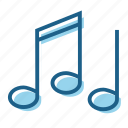 jazz, music, musical, note, notes icon