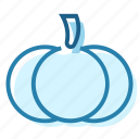 food, garden, halloween, orange, pumpkin, vegetable icon