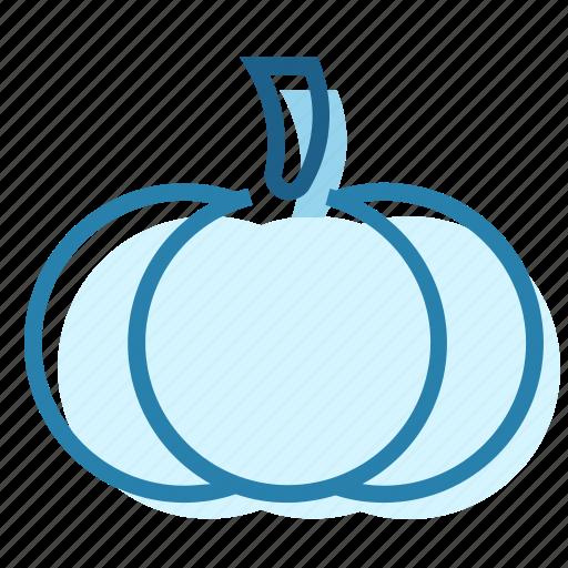 food, garden, halloween, orange, pumpkin, vegetable icon