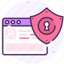 online protection, safe payment, secure payment icon