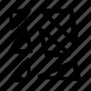 chaos, coincidence, random, randomize, shuffle icon