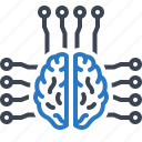 brain, intelligence, intelligent, smart icon