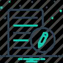 agreement, authority, registration, registry icon
