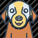 animal, dog, domestic, faithful, home animal, pet, tame icon
