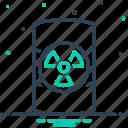 dangerous, emergency, hazardous, hazardous waste, parlous, perilous, waste icon
