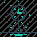 clock, dangle, oscillate, shaking, shudder, vibrancy icon