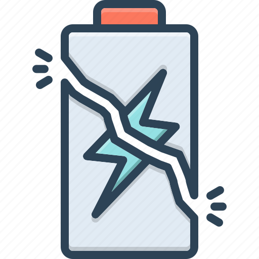Battery, charge, electricity, electronics, energy, overcharge, power icon - Download on Iconfinder