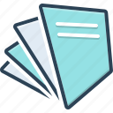 document, page, paper, paperfree, paperwork