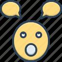 emoji, foolish, parakeet, silly, stupid, unwise