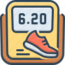 activity, alarm, app, calories, monitoring, pedometer, tracker icon