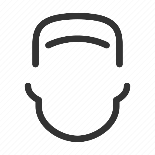avatar, face, head, man icon