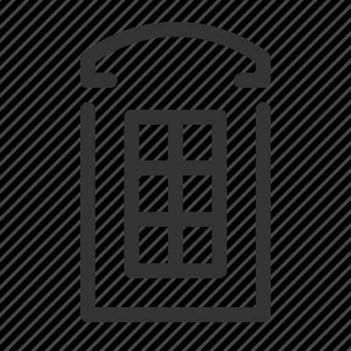 booth, callbox, phone, telephone icon