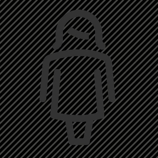 bathroom, generic, woman, womensroom icon