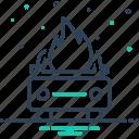 accident, auto, burning, car, explosion, transportation, vehicle