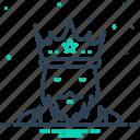 crown heads, emperor, king, monarch, potentate, sultan, tzar