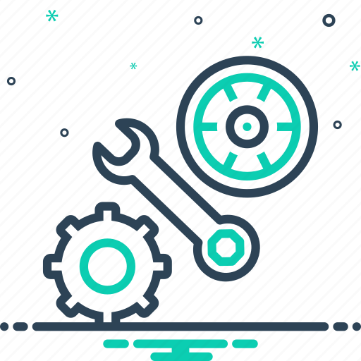 Automobile, automotive, gear, maintenance, parts, repair, service icon - Download on Iconfinder