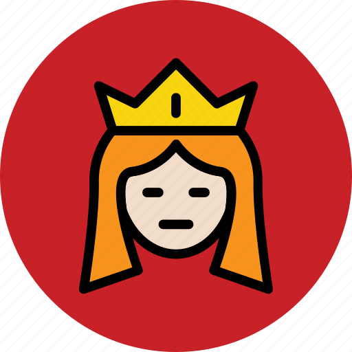 empress, monarch, queen, royal, royal family, ruler icon