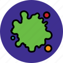 colour, smudge, splotch, stain icon