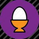 boiled, boiled egg, easter, egg, food
