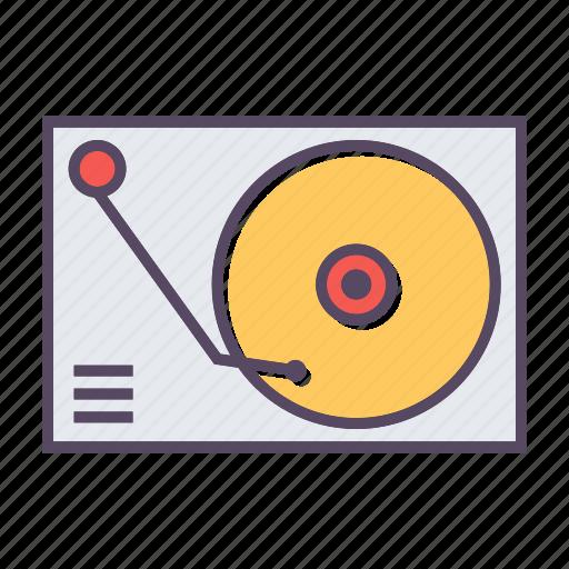 audio, dj icon