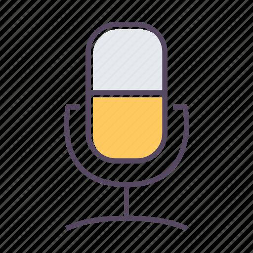 microphone, recording, speak, speech, voice icon