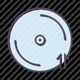 arrow, arrows, multimedia, up icon