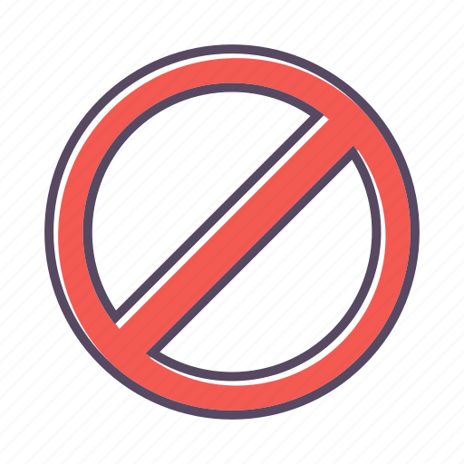 Forbidden, stop, warning icon - Download on Iconfinder