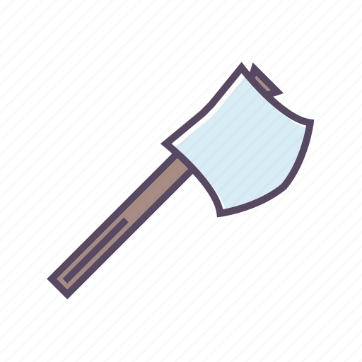 axe, camping, cutting icon