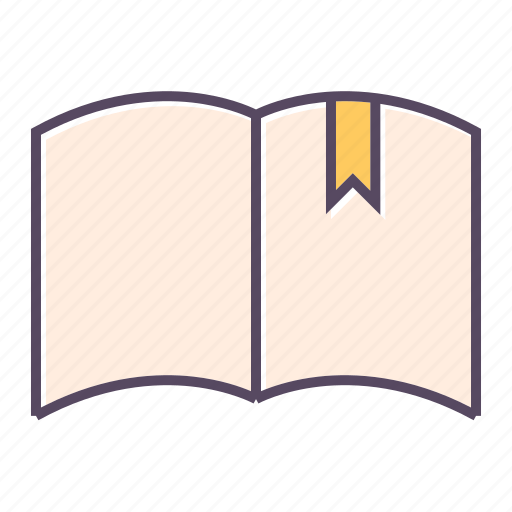 book, bookmark, education, knowledge, school, student, study icon