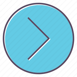 arrows, forward, right icon