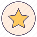 best, favorite, star, win, winner icon