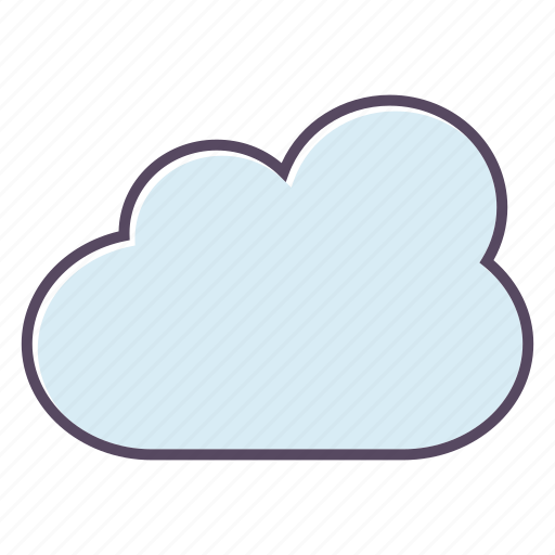 cloud, cloudy, storage icon