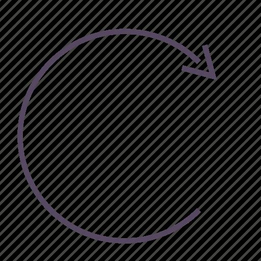 refresh, reload, renew, synchronize, update icon