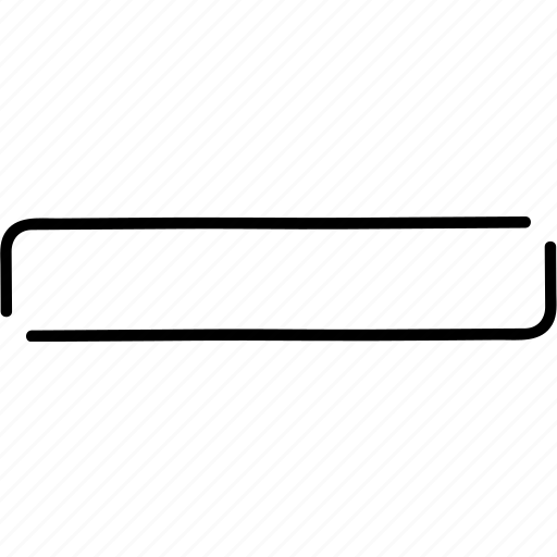 decrease, delete, minimise, minus, reduce, remove, subtract icon
