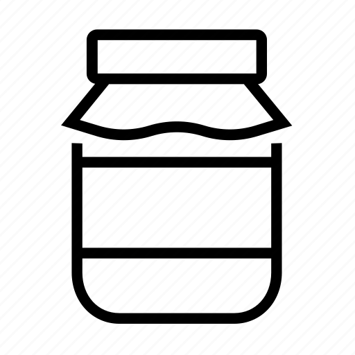 grandmother, jam, jar, jelly, narutal icon