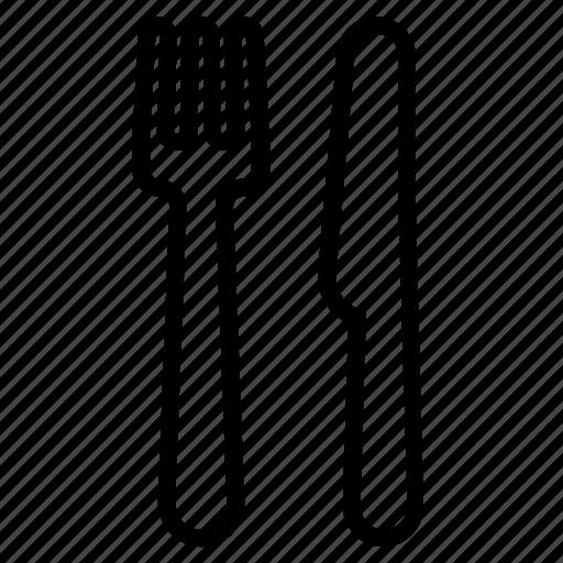 Fork, knife, restaurant, silverware icon - Download on Iconfinder