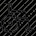 handicap, disability, manual, wheelchair