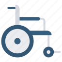 manual wheelchair, handicap, disability, accessible icon